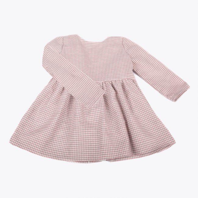 vestido rosa para niñas