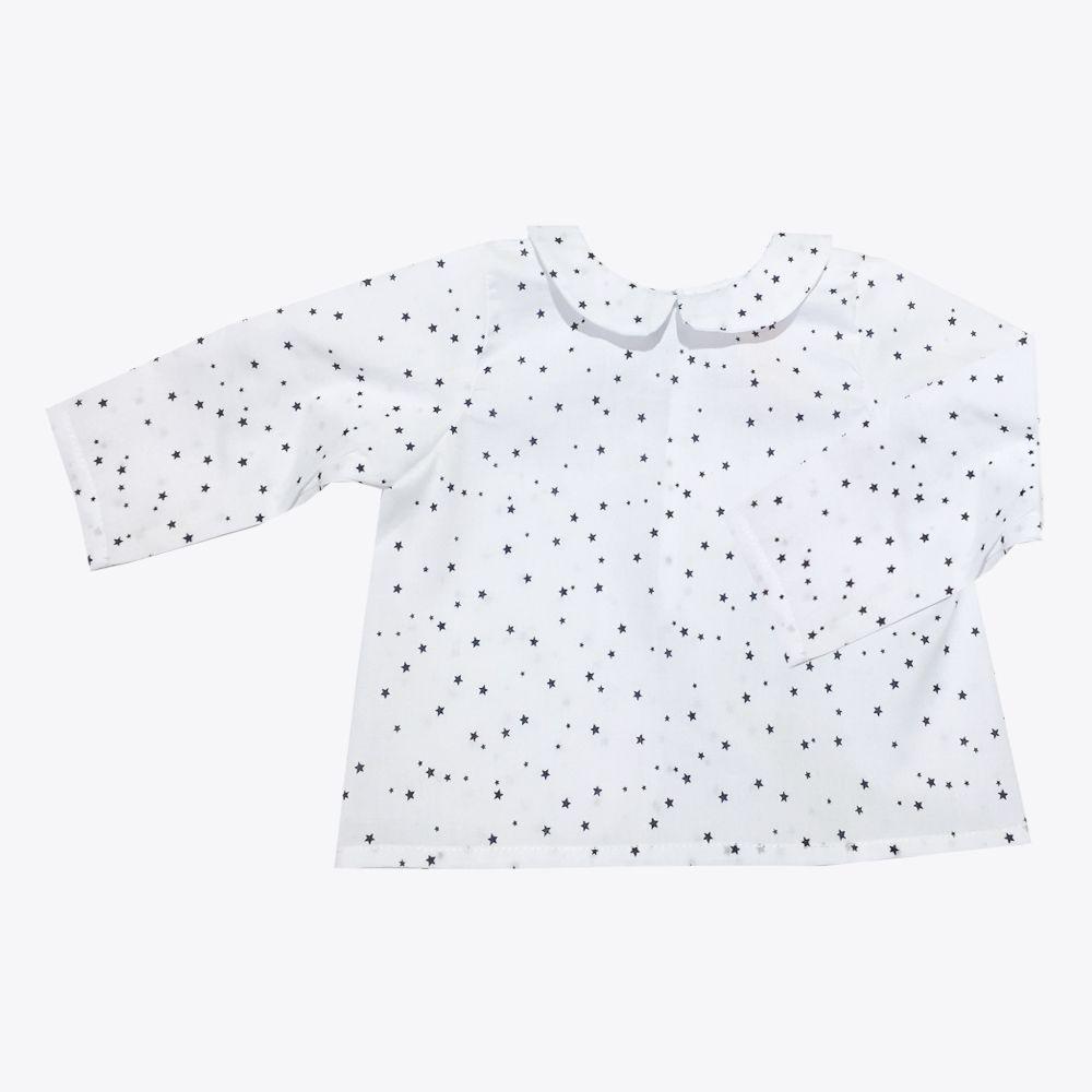 camisa bebé con estrellas