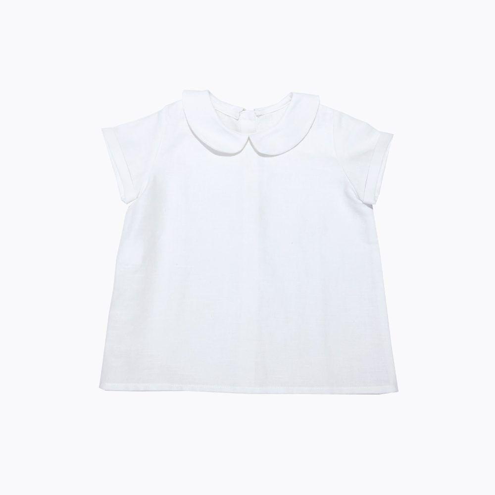 camisa blanca bebé