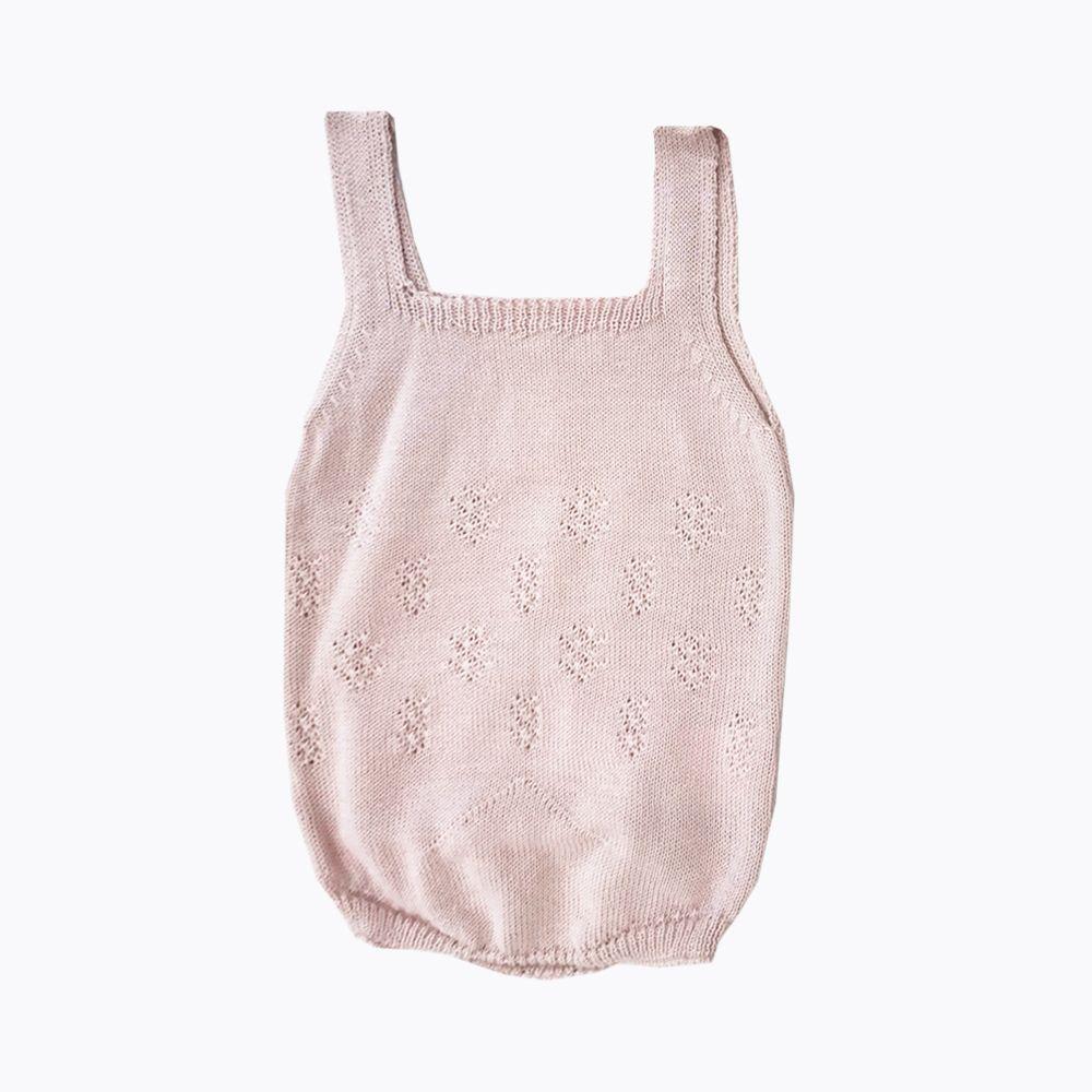 pelele rosa bebé