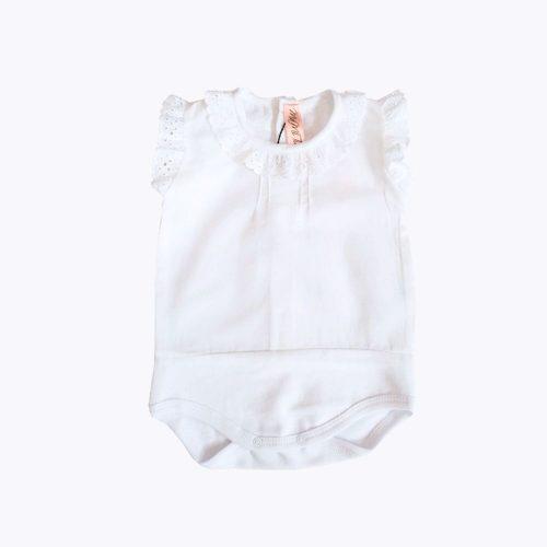 Body Camisa Puntilla